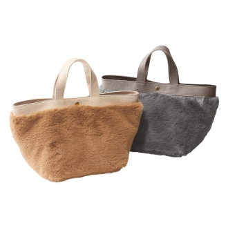 Cachellie / Kasherie fake fur tote bag