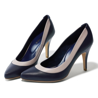 By color Pointed Toe Pumps