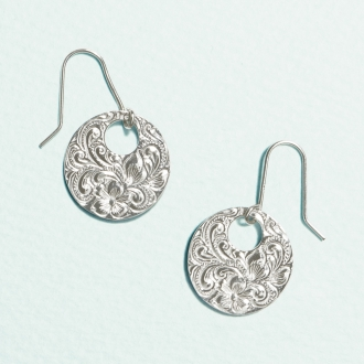 HEIRLOOM /传家宝SV圈设计的耳环
