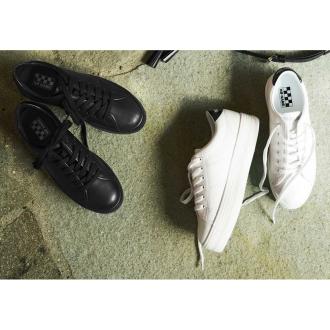 NO NAME / No Name platform leather sneakers