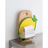 Washcloth and Cutting board stand