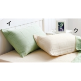 SUPIMAx Extra long staple cotton soft threefold Gauze series  Pillow case (A pair of the same color)