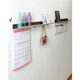 Tapestry shelf and Hook  Width 40cm