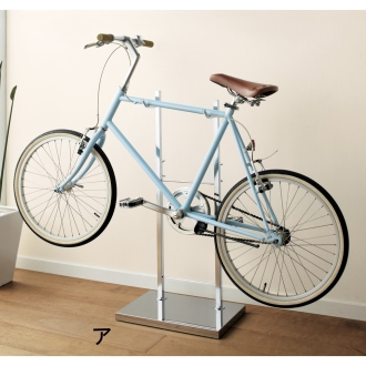 お気に入りの自転車を室内で ...