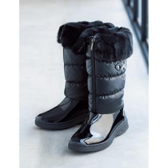 NISイタリア製エレガントウィンターブーツ 防寒ブーツ・レインブーツ(昨年モデル)