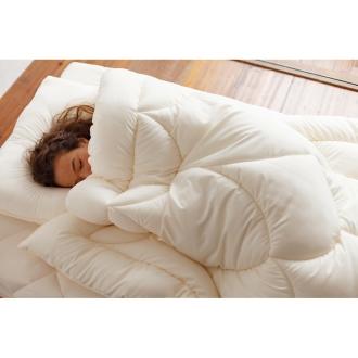 ディノス オンラインショップあったか洗える清潔寝具 お得な2枚合わせ敷布団用 シングル3点セット