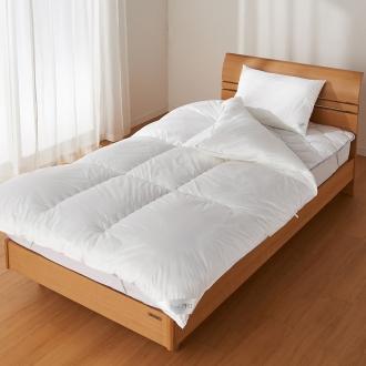 ディノス オンラインショップシングル3点セット 掛け布団・敷きパッド・枕 (SNフレッシュプロ お得なベッド用セット)ホワイト