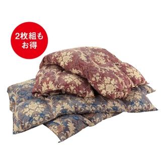 ディノス オンラインショップレギュラータイプ(バーゲン寝具シリーズ 羽毛布団 2枚組)レッドXブルー