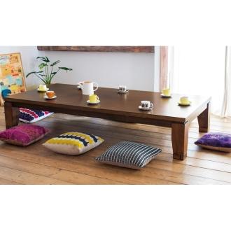 モダンリビング こたつテーブル 80×150cm