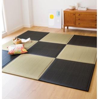 4.5畳用(同色9枚組)(ふっくらユニット畳)