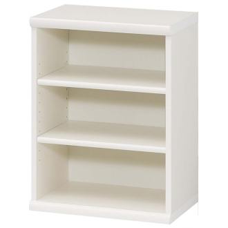 色とサイズが選べるオープン本棚 幅44.5cm高さ60cm