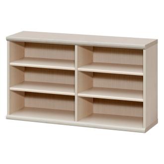 色とサイズが選べるオープン本棚 幅116.5cm高さ60cm