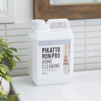 業務用 強力パイプ洗浄剤「ピカットロンプロ」 4Lセット(2L×2本)