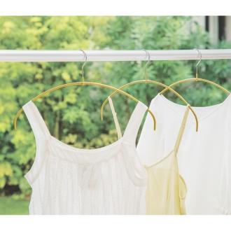 ディノス オンラインショップお得な同色60本組 (MAWA/マワ 洗濯ハンガー 人体スリムハンガー)ゴールド