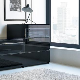 パモウナBW-60 上質な空間を奏でるテレビ台 キャビネット 幅60cm【ローチェスト】