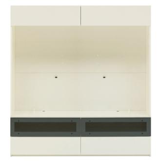【パモウナ社製】毎日の使いやすさを考えた収納システム テレビ台幅160cm 大型テレビ対応