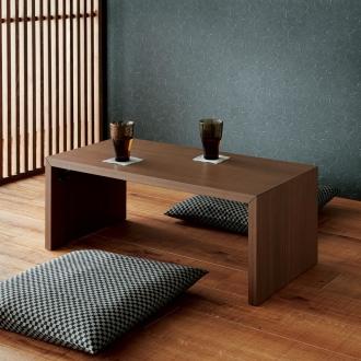 ディノス オンラインショップ折りたたみできるスマートスタイルテーブル 89x44cmホワイト