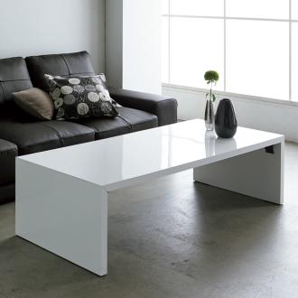 ディノス オンラインショップ折りたたみできるスマートスタイルテーブル 120x59cmホワイト