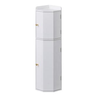 トイレコーナーラック 上部ゴミ箱付き 高さ75cm