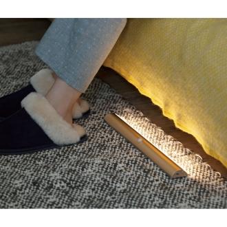 ディノス オンラインショップ幅30cm お得な2個(人感センサー足元LEDライト)シャンパンゴールド2コ