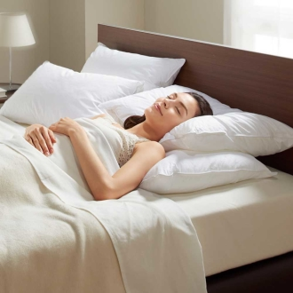 ディノス オンラインショップフォスフレイクス 安眠枕 お得な2個セット(枕のみ)普通判ホワイト