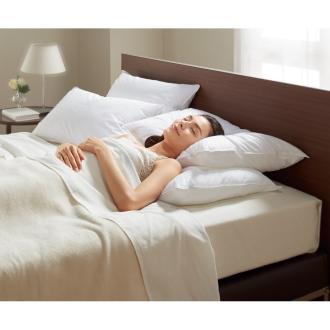 ディノス オンラインショップ正方形判 (フォスフレイクス 安眠枕 お得な2個セット(枕のみ))ホワイト