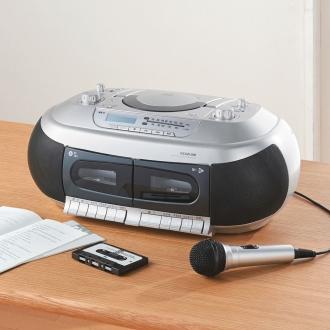 ディノス オンラインショップテープ再生速度が変えられる CDダブルカセットデッキ