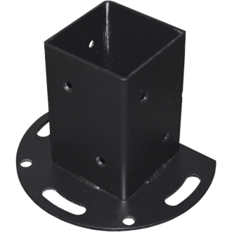 リアル人工木ラティスシリーズ 取付用パーツ ポール固定金具