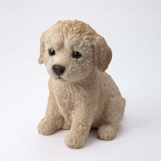 リアル犬のオーナメント 子犬ラブラドゥードル