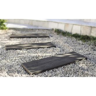 ディノス オンラインショップ人工木枕木 金具なし お得な3本組 高さ60cmナチュラル