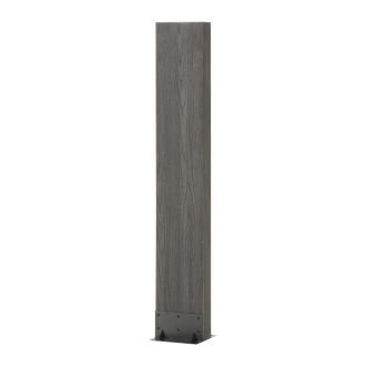 ディノス オンラインショップ人工木枕木 金具なし お得な3本組 高さ120cmナチュラル