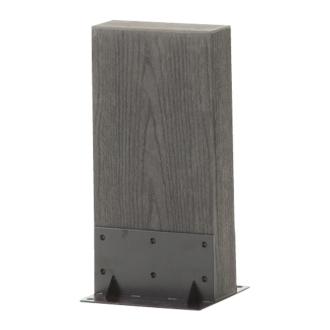 ディノス オンラインショップ人工木枕木 金具あり お得な3本組 高さ40cmナチュラル
