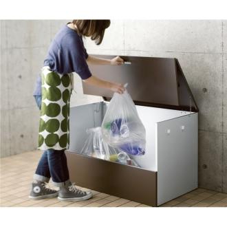 ガルバ製ゴミ保管庫 レギュラータイプ 幅100奥行55cm