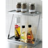 Stainless Spice rack  Second dan