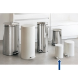 brabantia  Brabantia  Trash can  A series  White  3L  Trash can.