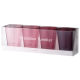2 sets of gradation Tumbler 4 color
