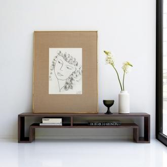 SHOJI ショージ オケージョナルテーブル 幅140高さ30cm リビングテーブル[abode(アボード)/デザイン:ウー・バホリヨディン]