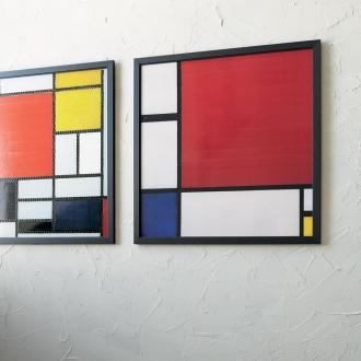 蒙德里安藝術相框