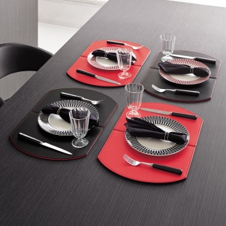 FREEFORM / free-form collapsible Luncheon mat 4 Disc
