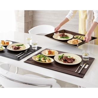 Large, 4-Pack (tray to become a luncheon mat)