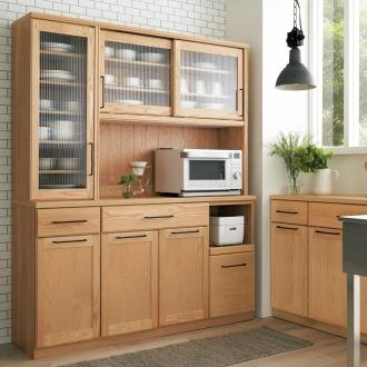 Orgue/オルグ天然木キッチン キッチンボード 幅160cm