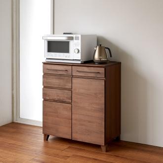 Lotta ロッタ コンパクトキッチン収納 カウンター 幅80cm