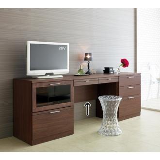 ディノス オンラインショップVidal(ビダル) ホテルスタイル収納 デスクソリッドミディアム