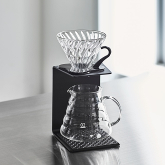HARIO /ハリォV60滴漏式咖啡铝架中的黑