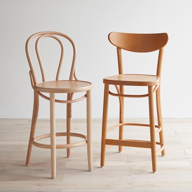 フィットチェア リア(曲げ木椅子 カフェ風ソファー)