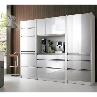 ContrnoII コントルノ キッチン収納シリーズ 家電を隠すフラップボード 幅62cm