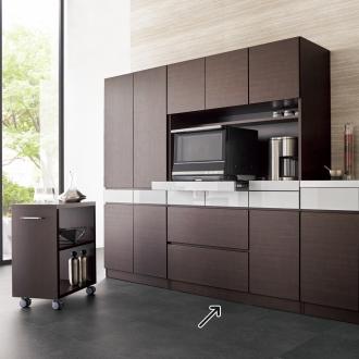 FMキッチンシリーズ キッチン家電収納ボード 幅120.5cm