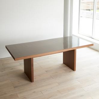 幅200×奥行90cm(MULTIテーブルに合わせて作ったアキレス高機能透明テーブルマット)