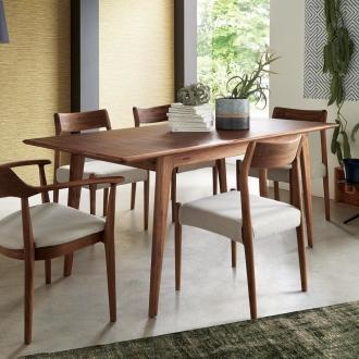 ディノス オンラインショップEDDA/エッダ 北欧スタイル 伸長式ダイニングテーブル 幅135〜170cm