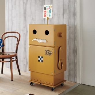 Robit&Pico/ロビット&ピコ 限定カラーゴールドのロビット収納ロボ